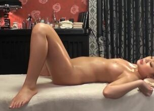 Japanese massage married blonde