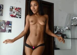 Young anime girl naked