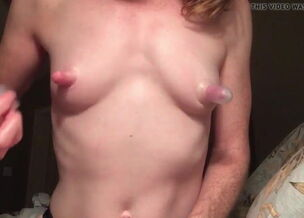 Teen long nipples